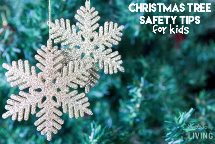 christmas tree safety tips for kids featured