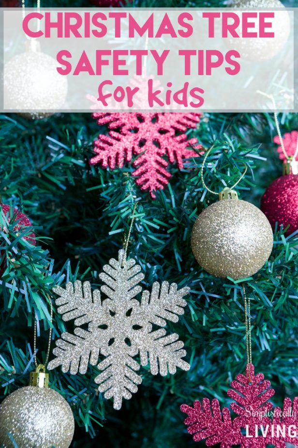 christmas tree safety tips for kids