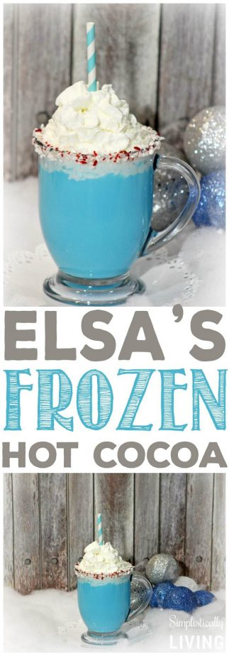 elsa's frozen hot cocoa