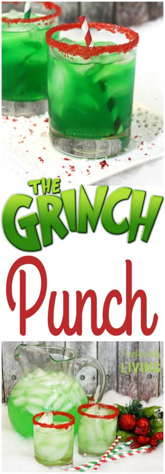 The Grinch Punch #thegrinch #grinchpunch #grinchrecipes #greenpunch #partypunch #christmasrecipes