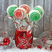 Holiday Candy Cookie Pop