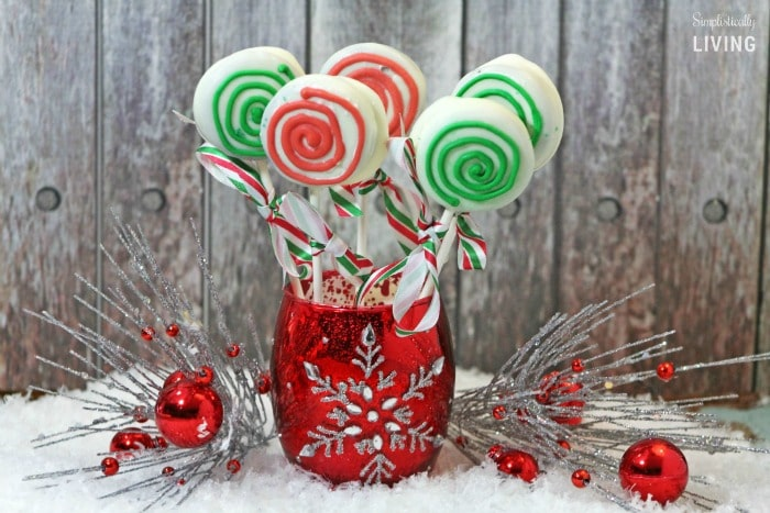 holiday candy cookie pop featured