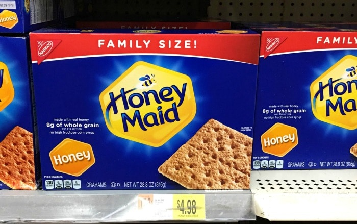 honey maid at Walmart