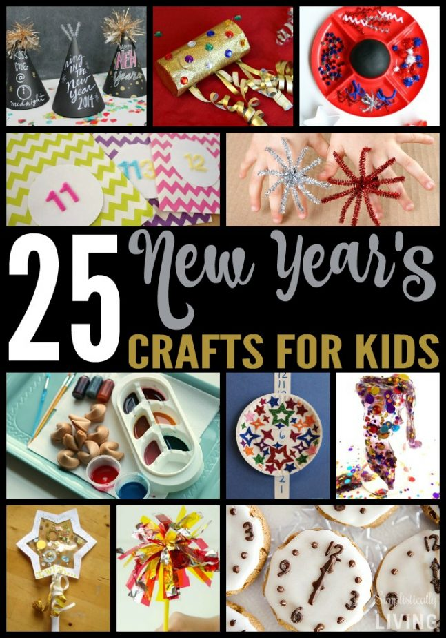 25 NEW YEAR'S CRAFTS FOR KIDS2