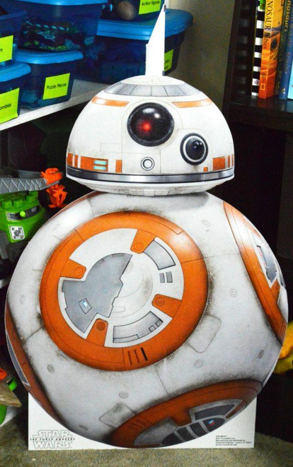 BB-8 standup