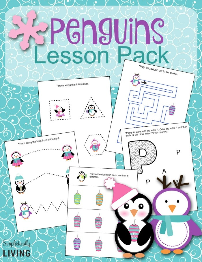 Penguins Lesson Pack Free Printable
