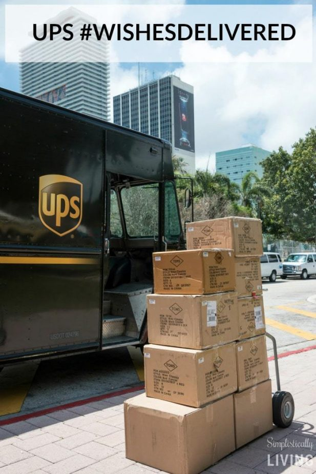 UPS WISHESDELIVERED