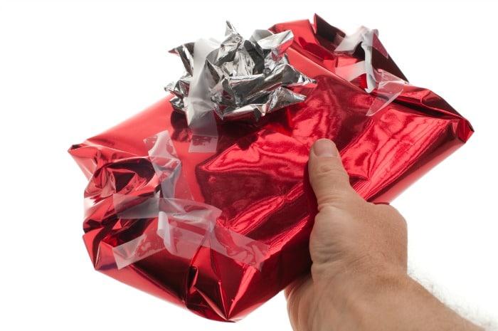 christmas wrapping terrible