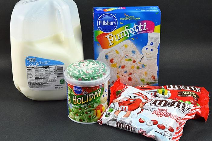 holiday mug cake ingredients