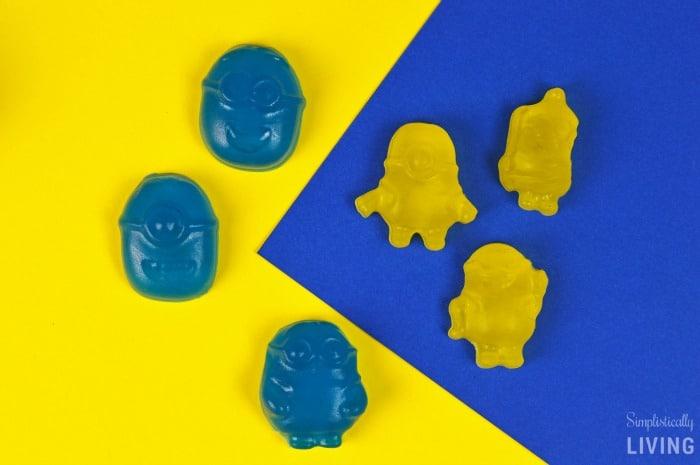 homemade minions gummies featured