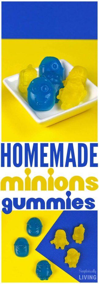 homemade minions gummies