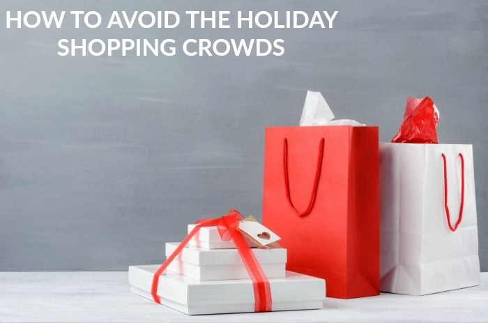how to avoid the holiday shopping crowds featured
