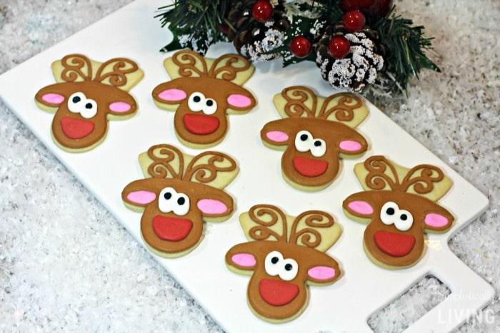 reindeer cookies featured