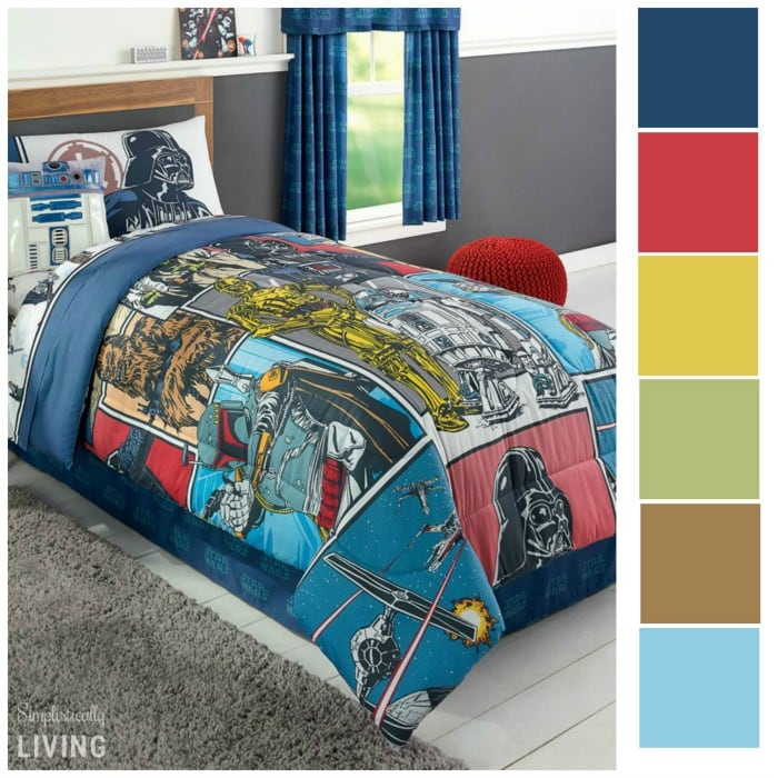 star wars room colors
