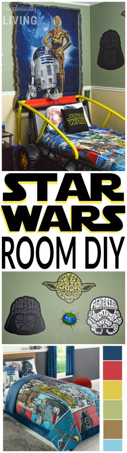 star wars room diy
