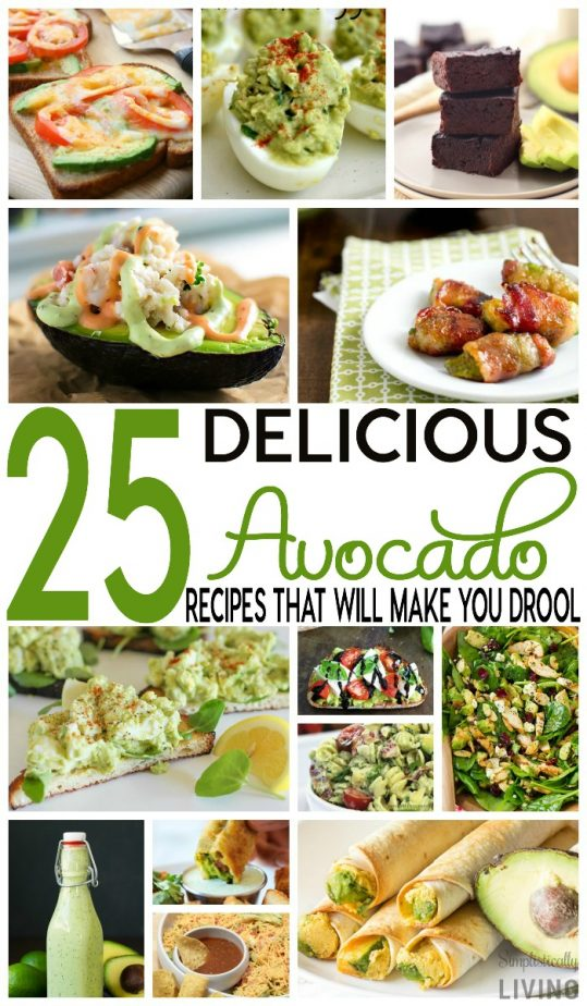 25 delicious avocado recipes