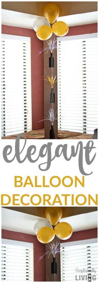 ELEGANT BALLOON DECORATION
