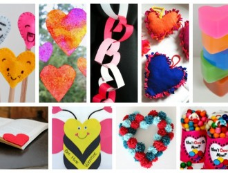 14 Lovely Heart Crafts for Kids
