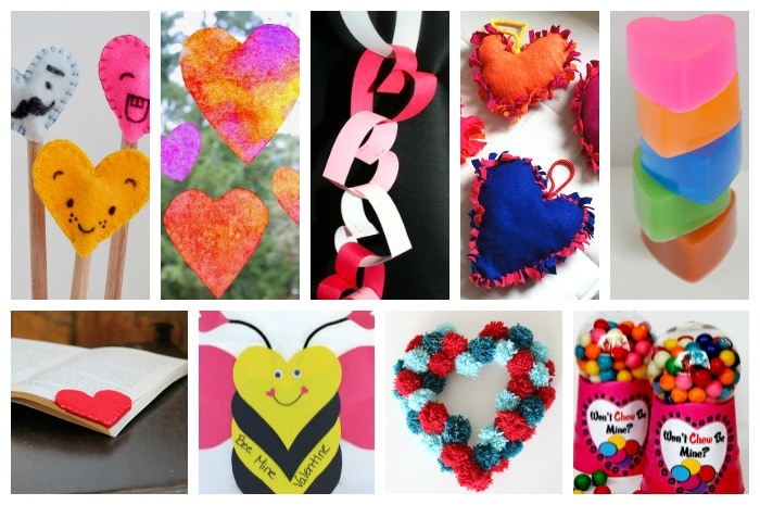 heart crafts for kids2
