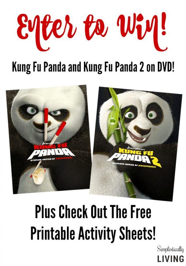 kung fu panda giveaway