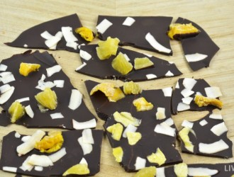 Tropical Chocolate Bark