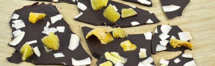 Tropical Chocolate Bark