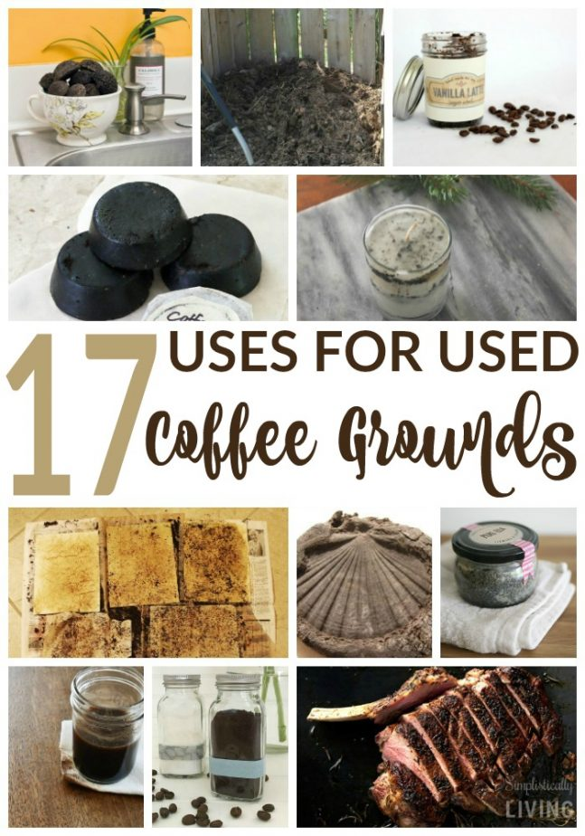 17 uses for used coffee grounds simplistically living. Black Bedroom Furniture Sets. Home Design Ideas