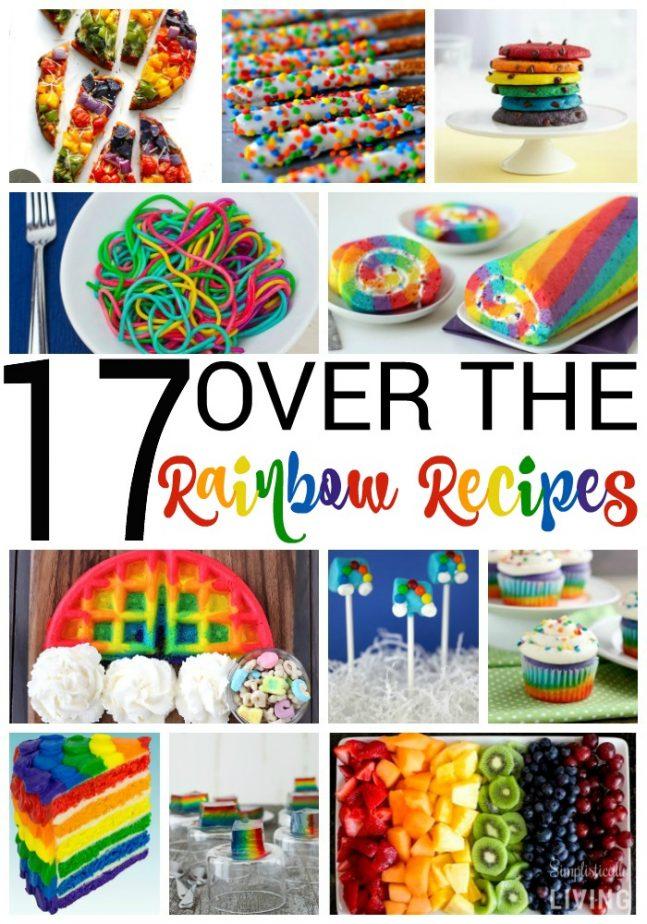17 over the rainbow recipes