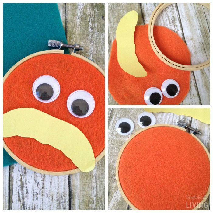 DIY The Lorax Wall Hanging2