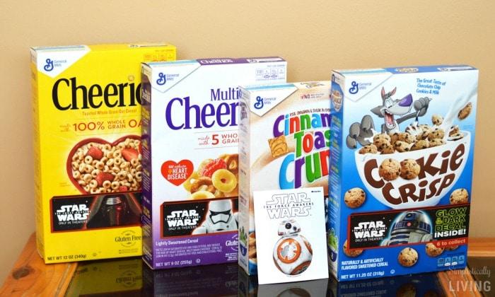 General Mills Big G Star Wars Cereals