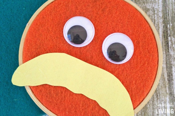 The Lorax Wall Hanging Featured