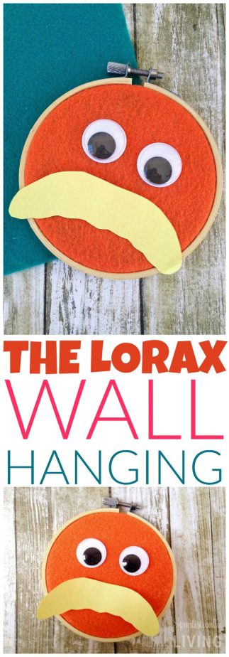 the lorax wall hanging
