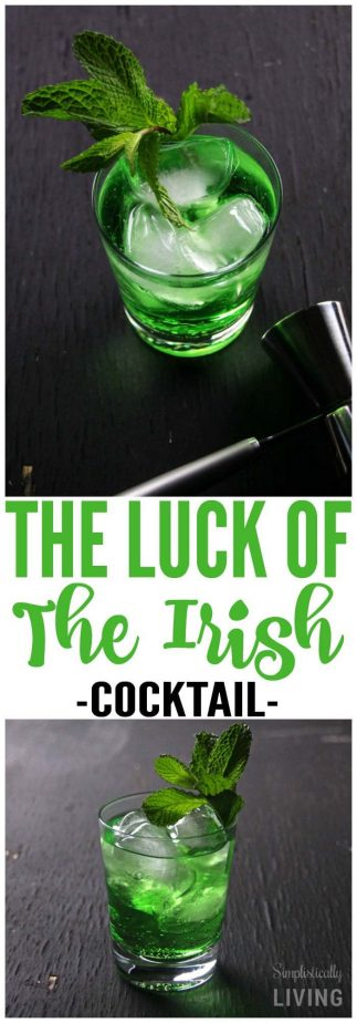 the luck of the irish cocktail