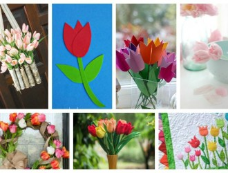 21 Adorable Tulip Crafts