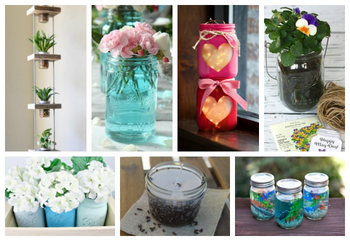 34 Adorable Mason Jar Crafts You Need to Make Now3
