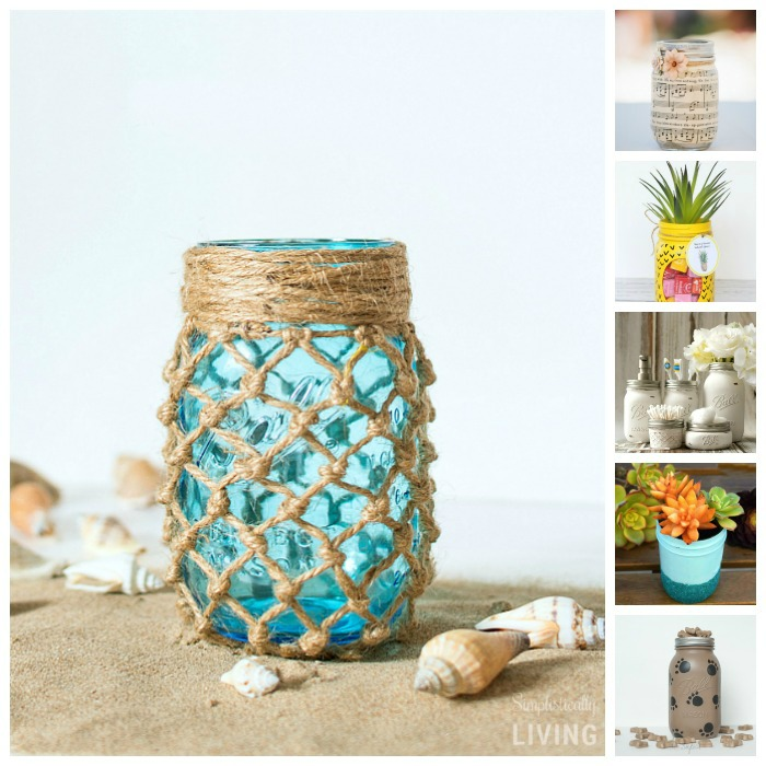 34 Adorable Mason Jar Crafts You Need to Make Now4