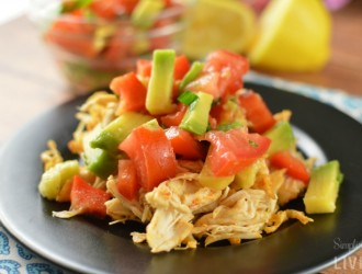 Chicken Avocado Salsa