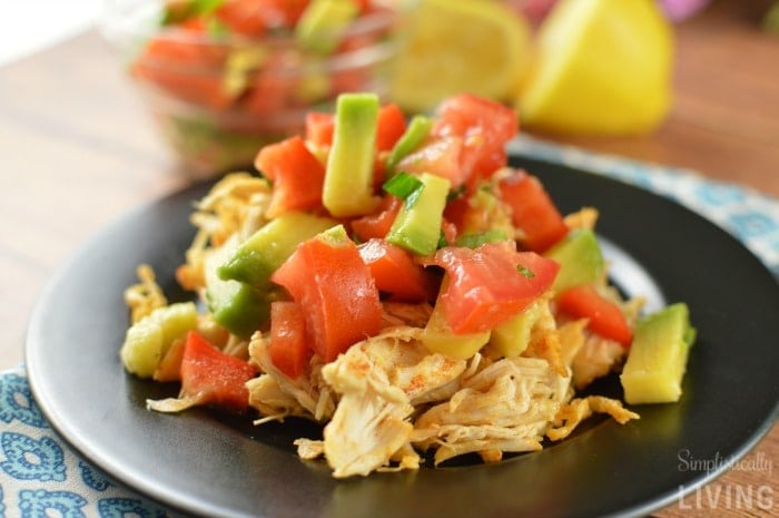 Chicken Avocado Salsa Featured