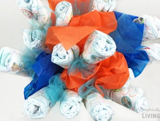 DIY Diaper Bouquet