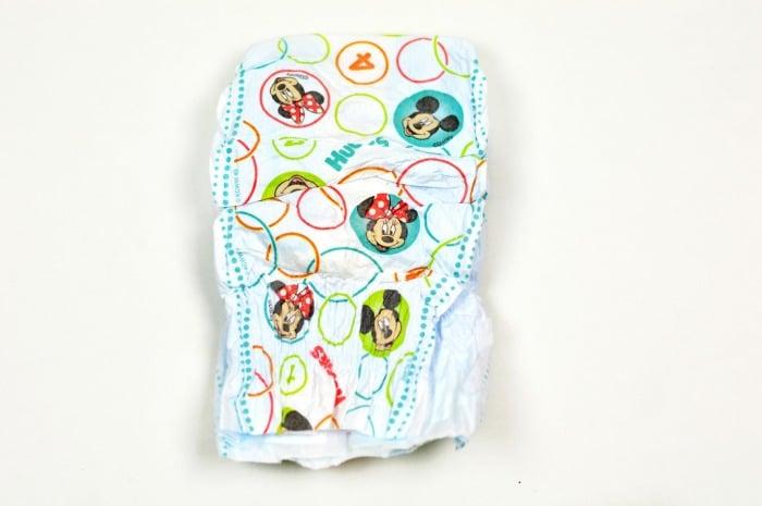 DIY Diaper Bouquet step1