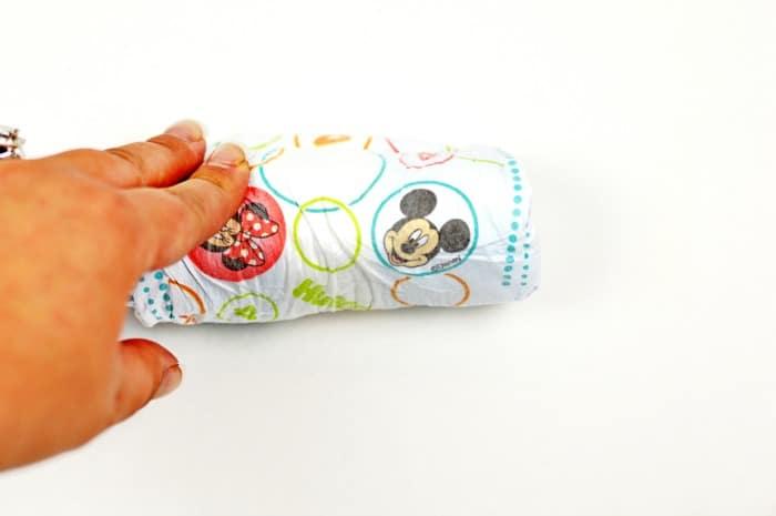 DIY Diaper Bouquet step2
