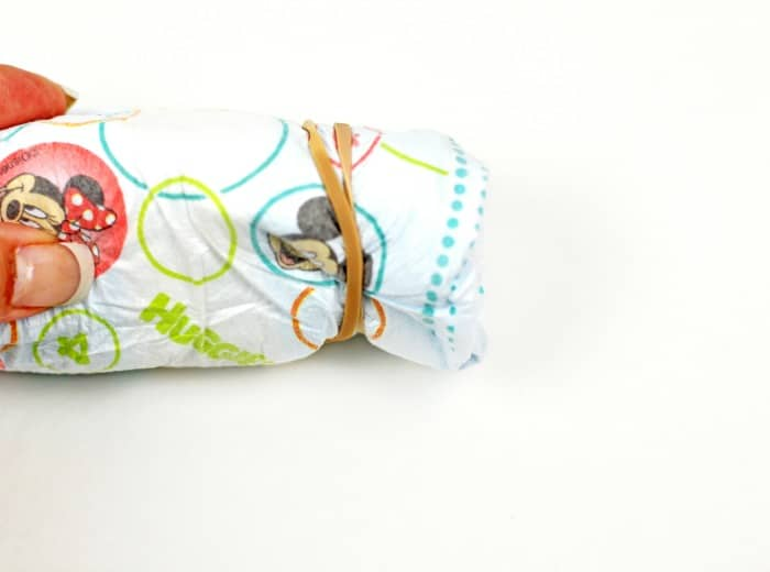 DIY Diaper Bouquet step3