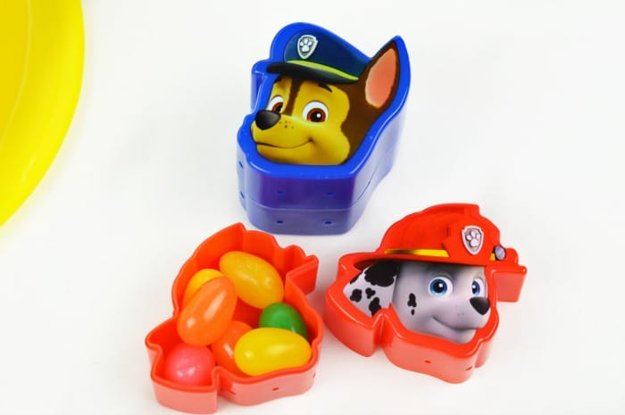 DIY Paw Patrol Easter Basket (For a Toddler) #easter #easterbasket #diyeaster #pawpatrol #pawpatroleaster #easterideas