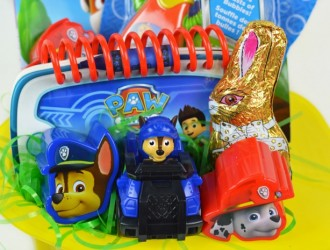 DIY Paw Patrol Easter Basket (For a Toddler)