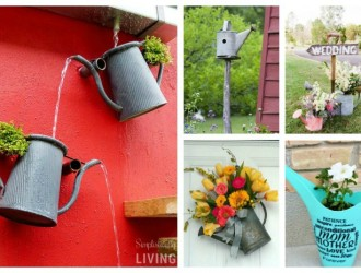 20 Wonderful Watering Can Crafts