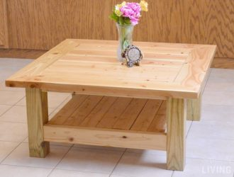 DIY Pine Table