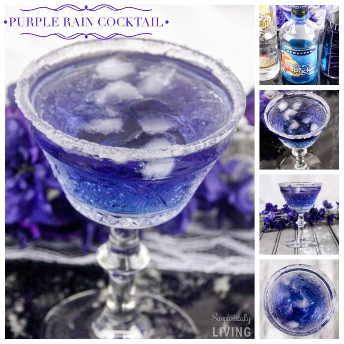 Purple Rain Cocktail Square