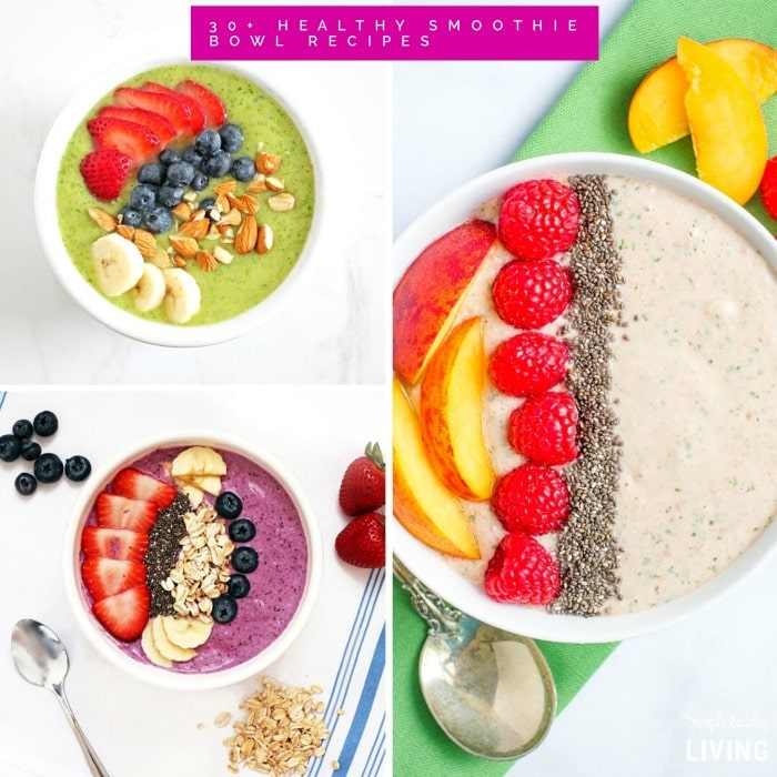 30+ Healthy Smoothie Bowl Recipes Square