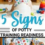 signs if your child is ready to be potty-trained