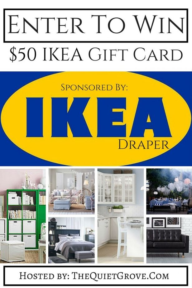 $50 IKEA Giveaway